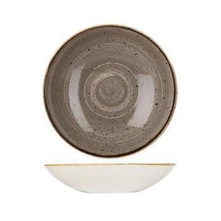 Picture of Stonecast Bowl Coupe 182mm Peppertree Grey