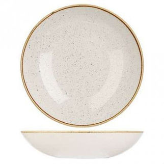 Picture of Stonecast Coupe Bowl 182mm Barley White