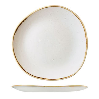 Picture of Stonecast Organic Round Plate Barley White 286mm