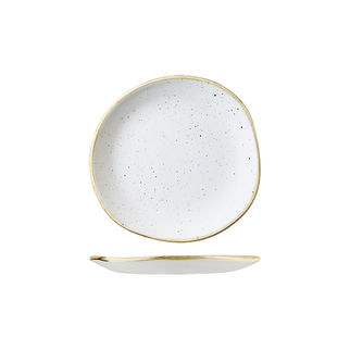 Picture of Stonecast Organic White Plate Barley White 186mm