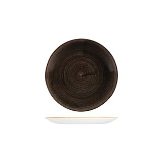 Picture of Stonecast Patina Iron Black Round Coupe Plate 165mm