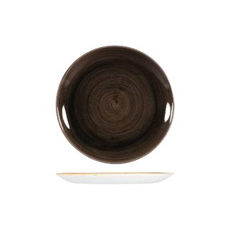 Picture of Stonecast Patina Iron Black Round Coupe Plate 217mm