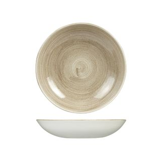 Picture of Stonecast Patina Taupe Round Coupe Bowl 248mm