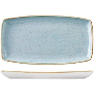 Picture of Stonecast Rectangular Plate 350 X 185mm Duck Egg Blue