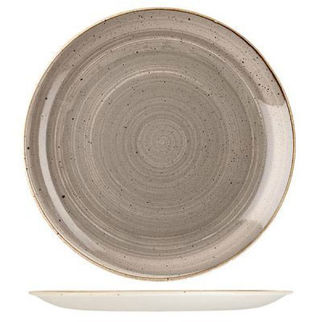 Picture of Stonecast Round Coupe 288mm Peppercorn Grey