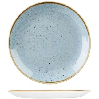 Picture of Stonecast Round Coupe Plate 165mm Duck Egg Blue