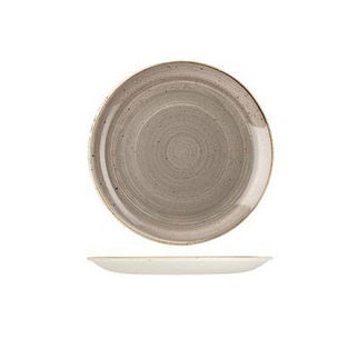 Picture of Stonecast Round Coupe Plate 165mm Peppercorn Grey