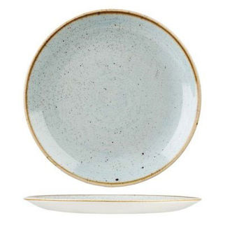 Picture of Stonecast Round Coupe Plate 288mm Duck Egg Blue