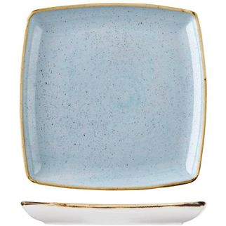 Picture of Stonecast Square Plate Deep 268mm Duck Egg Blue