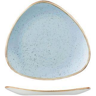 Picture of Stonecast Triangular Plate 229mm Duck Egg Blue