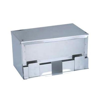Picture of Straw Dispenser Stainless Steel 260x150x130mm