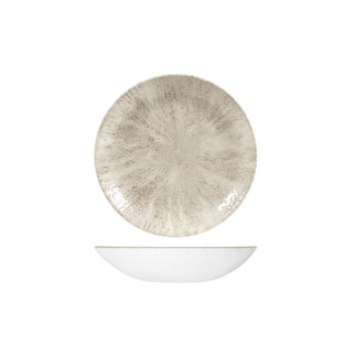 Picture of Studio Prints Stone Round Coupe Bowl 182mm Agate Grey