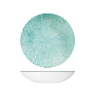 Picture of Studio Prints Stone Round Coupe Bowl 248mm Aquamarine