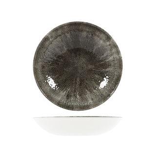 Picture of Studio Prints Stone Round Coupe Bowl 248mm Quartz Black