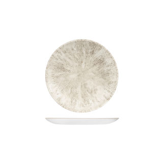 Picture of Studio Prints Stone Round Coupe Plate 165mm Agate Grey