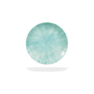Picture of Studio Prints Stone Round Coupe Plate 165mm Aquamarine