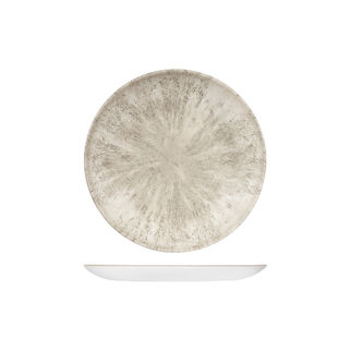 Picture of Studio Prints Stone Round Coupe Plate 217mm Agate Grey