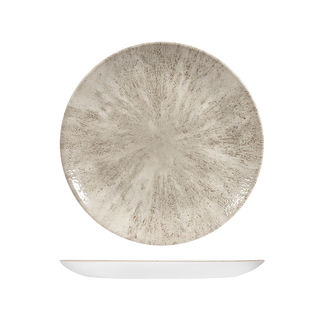 Picture of Studio Prints Stone Round Coupe Plate 260mm Agate Grey