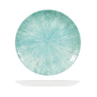 Picture of Studio Prints Stone Round Coupe Plate 288mm Aquamarine
