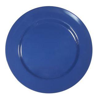Picture of Superware Melamine Round Plate Dark Blue 230mm