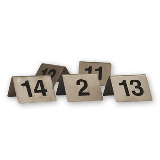 Picture of Table Number Set  1-10