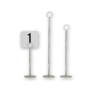 Picture of Table Number Stand  70mm Base 450mm