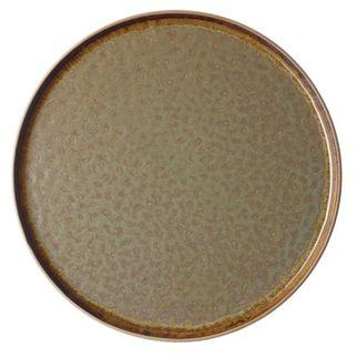 Picture of Tablekraft Soho Burnt Sienna Round Platter 330mm
