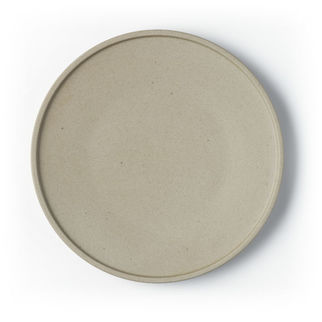 Picture of Tablekraft Soho Round Plate Stone 255mm