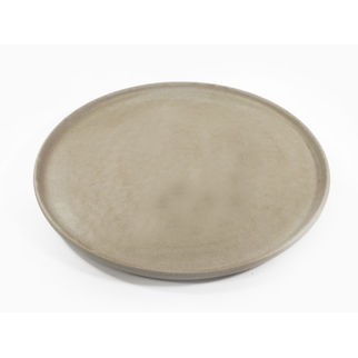 Picture of Tablekraft Soho Round Platter Stone 330mm