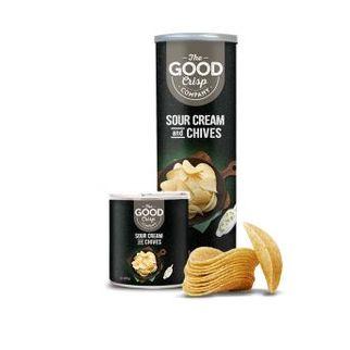 Picture of TGCC Black Label Sour Cream Chips 45g