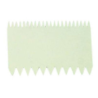 Picture of Thermo Double Sided Comb Scraper 110x75mm