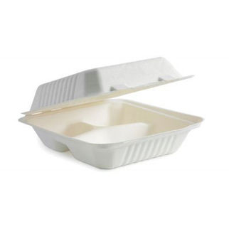 Picture of Three Compartment Clamshell 8inch 200