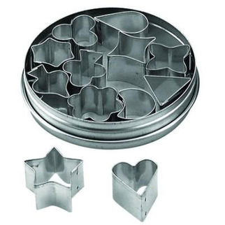 Picture of Tin Aspic Cutters Set 12pc 30mm