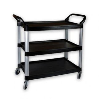 Picture of Trolley Plastic 3 Tier 1060x480x1000mm black