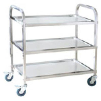 Picture of Trolley Stainless Steel 3 Tier