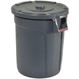 Picture of Trust Thor Round Bin 75L Grey