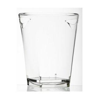 Picture of Verrerie Quadra Bucket Clear Acrylic Square Base