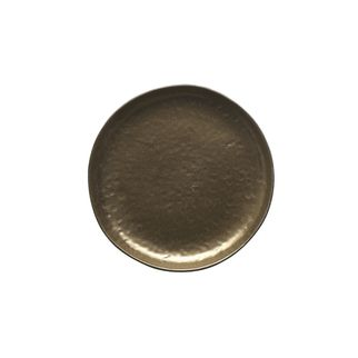 Picture of Vilamoura Bronze Round Plate Coupe 220mm