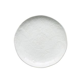 Picture of Vilamoura Goa Blanc Round Plate Coupe 275mm