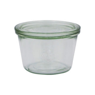 Picture of Weck Glass Jar 741 370ml w/lid (no seal no clamps)