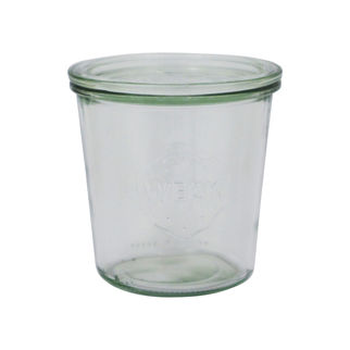 Picture of Weck Glass Jar 742 580ml w/lid (no seal no clamps)