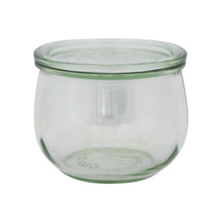 Picture of Weck Tulip Glass Jar 744 580ml w/lid (no seal no clamps)