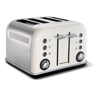 Picture of White Accents 4 Slice Toaster