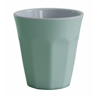 Picture of Cafe Melamine Two Tone Cup Duck Egg 275ml