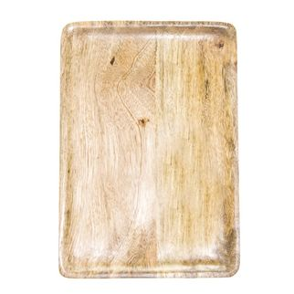 Picture of Mango Wood Serving Board Rectangular 360x180x15mm NATURAL