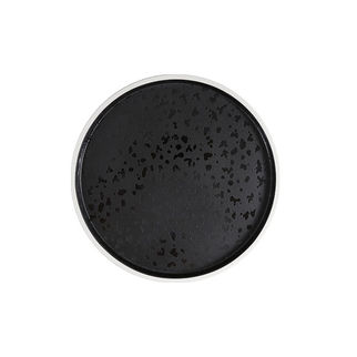 Picture of Zicco Dusk Round Tray black and white 215 x 18mm
