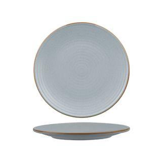 Picture of Zuma Bluestone Round Plate Ribbed 210mm