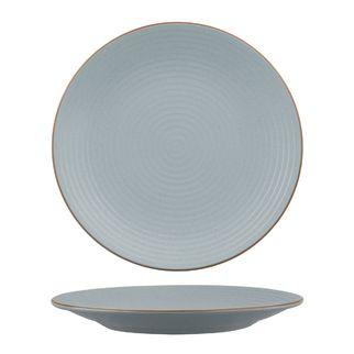 Picture of Zuma Bluestone Round Plate Ribbed 310mm