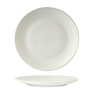 Picture of Zuma Frost Round Plate Ribbed 265mm