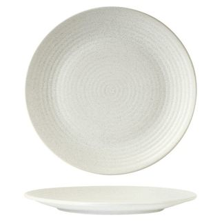 Picture of Zuma Frost Round Plate Ribbed 310mm